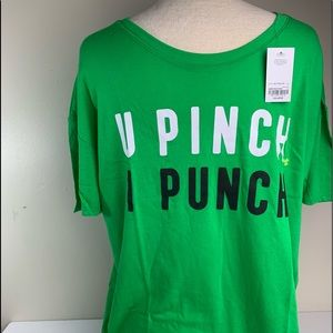 Women's Size XXLarge St. Patrick's Day Shirt NWT